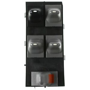 Window Switch For 96 2005 Pontiac Grand Am 4 Door 5 Button Black And Gray