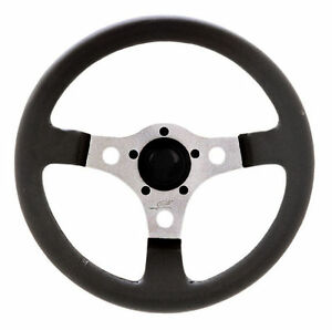 Vw Bug Ghia Formula Gt Steering Wheel Polished 3 spoke 13 3 Dish 79 4037