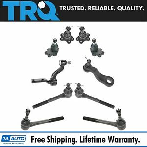Trq Front Suspension Kit Set Tie Rod Ball Joint Pitman Idler For Chevy Gmc Truck