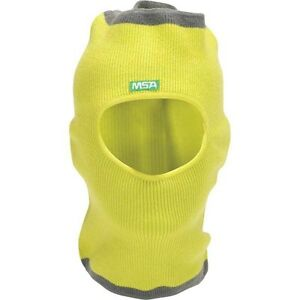 Msa 10118418 V gard Value Yellow Winter Liner Knit Hat cap Cover For Hard Hats