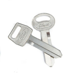 1979 1993 Ford Logo Mustang Ignition Trunk Key Blanks Set