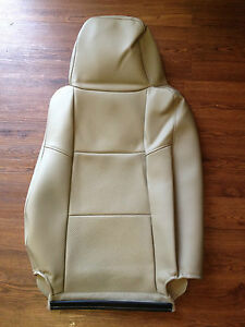 2004 2005 Ford Ranger Factory Original Lh Driver Seat Cover Tan Vinyl