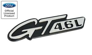 1996 1998 Mustang Gt 4 6l Chrome Fender Side Replacement Emblem 5 25 X 1 25