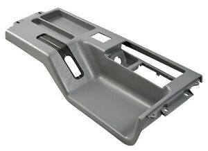 1987 1993 Mustang Interior Center Top Console In Gray with Power Mirrors