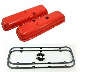 Bbc Chevy 454 Valve Covers Cheater 1 2 Taller 427 Big Block Chevy 396 454 Kit