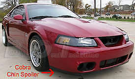 2003 2004 Ford Mustang Cobra Front Chin Spoiler W Attaching Hardware