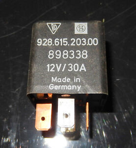 porsche 928 615 203 00 Rear Window Defroster Relay