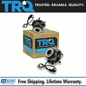 Trq Front Wheel Hub Bearing Left Right Pair Set For Chevy Gmc Isuzu Olds