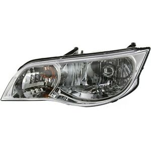 Headlight For 2003 2005 2006 2007 Saturn Ion Coupe Left With Bulb