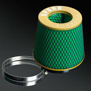 4 Universal Inlet Super High Dry Flow Cone Mesh Turbo Intake Air Filter 102mm