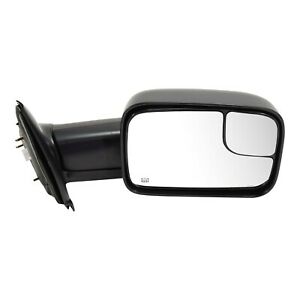Tow Mirror For 2002 2009 Dodge Ram 1500 Right Side Power Heat Blind Spot Glass