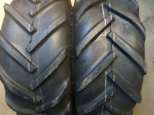 Two 23 10 50x12 Cub Cadet 1250 Lug Gravely Tires Two 400x8 3 Rib Tires W tubes