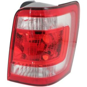 Tail Light For 2008 2012 Ford Escape Passenger Side