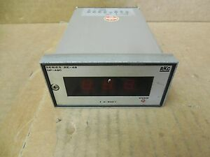 Rkc Temperature Controller Re 48 Re48 0 800 c 100 220 Volt Used