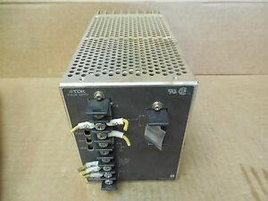 Tdk Power Supply Rm 24 6rogb Rm246rogb 24 V Volt 6a 6 A Amp Used