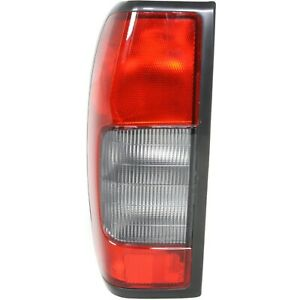 Tail Light For 2000 2004 Nissan Frontier Driver Side W Clear Reverse Lens