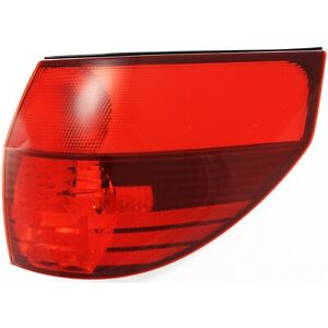 Tail Light For 2004 2005 Toyota Sienna Lens And Housing Right Outer