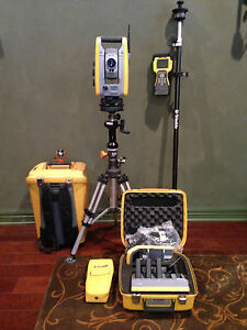 Trimble S6 1 High Precision Robotic Total Station With Tsc2 W radio Calibrated