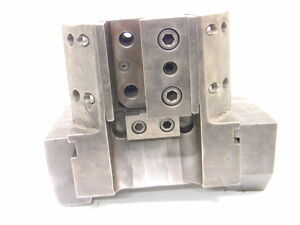 Used Bullard Dynatrol 6 Dovetail Tool Holder cs896 4 L c 4140