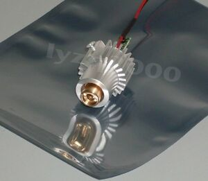 Real 100mw 532nm Green Laser Module With Heatsink Glass Lens