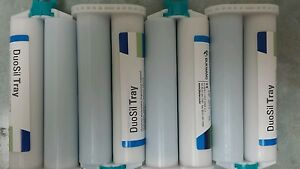 Dental Impression Material Duosil Tray 4 Cartridges Heavy Body