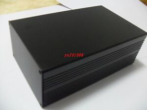 Diy Black Aluminum Project Box Electronic Enclosure Case 200x127x75mm l w h