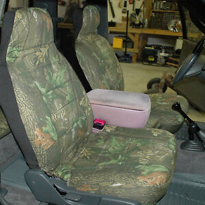 Fits 2005 2012 Ford Ranger 60 40 High Back Car Seat Covers Camouflage Tree