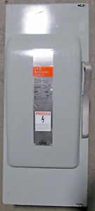 O Siemens 200 Amp Safety Switch Disconnect Ju324 240 Vac New