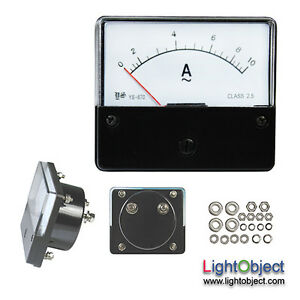 Ac 0 10a Analog Current Panel Meter
