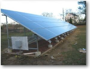 6 68 Kw Turnkey Diy Ground Mount Solar Power For A House