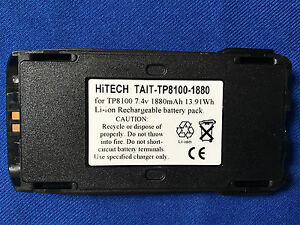 10 Batteries japan Liion 7 4v2ah for Tait Tp8110 tp8115 tp8120 tp9300 tp9400
