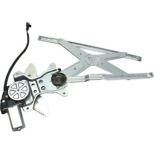 Front Window Regulator For 1998 2001 Toyota Corolla Geo Prizm With Motor Lh Side
