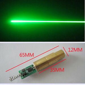 High Quality 100mw Diy 532nm Green Laser Diode Module green Beam lab With Driver