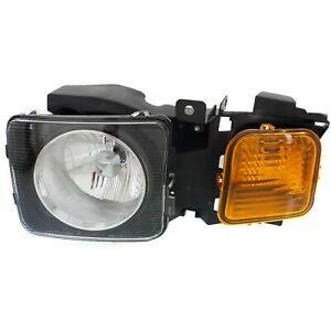 Headlight For 2006 2010 Hummer H3 2009 2010 H3t Driver Side W Bulb
