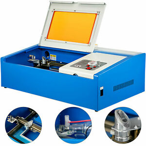 40w Co2 Usb Laser Engraving Cutting Machine Engraver Cutter Chiller 300 200mm