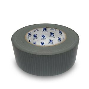 Silver Duct Tape 2 x50m 1 Case 24 Rolls 3 33 Roll Free Shipping