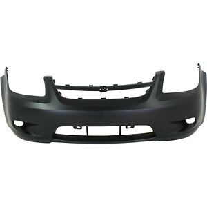 Front Bumper Cover For 2006 2010 Chevy Cobalt W Fog Lamp Holes Primed
