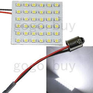 100x Ba9s 1895 53 57 T4w 182 1445 6253 Adapter 36 smd Led Panel Light Bulb New