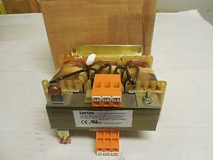 New Lenze Reactor Ezn3a0500h007 3x5mh 10 3x7a 7 A Amp 3 Pole 387 068