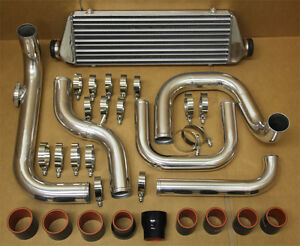 Honda Civic 92 95 Eg D15 D16 Si Aluminum Blot On Turbo Intercooler Piping Kit Br