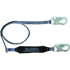 Falltech Fall Protection Lanyard 4 Clear Pack Shock Absorbing Lanyard
