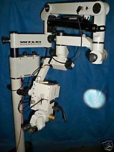 Leica Wild M655 Surgical Microscope Ent Dental Microsurgery Warranty
