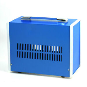 Metal Electrical Cable Connect Junction Box Blue 270mm X 210mm X 140mm