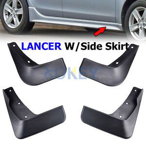 Fit For Mitsubishi Lancer 2008 2009 2010 2011 Mud Flaps Splash Guards Mudguard