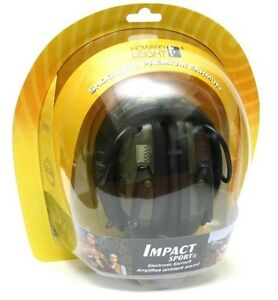 Howard Leight R 01526 Impact Sport Electronic Shooting Ear Muffs free Us Ship