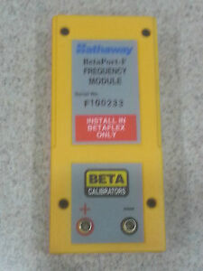 Hathaway Beta Martel Betaport f Frequency Module Brand New