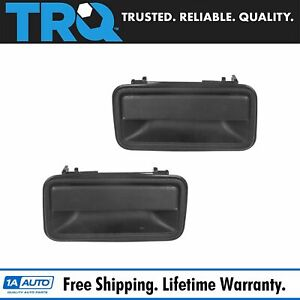 Door Handles Outside Exterior Rear Lh Rh Pair Set For Chevy Gmc Suburban Tahoe