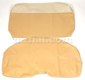 Fiat 600 Multipla Beige Bench Seat Covers Set New