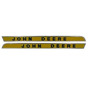 Ar28048 Side Molding Moulding Raised Letters Fits John Deere 2010 3010 3020 4020