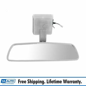 Inside Rearview Mirror 3 Wire Rear View Lighted For 84 88 Toyota Pickup Truck